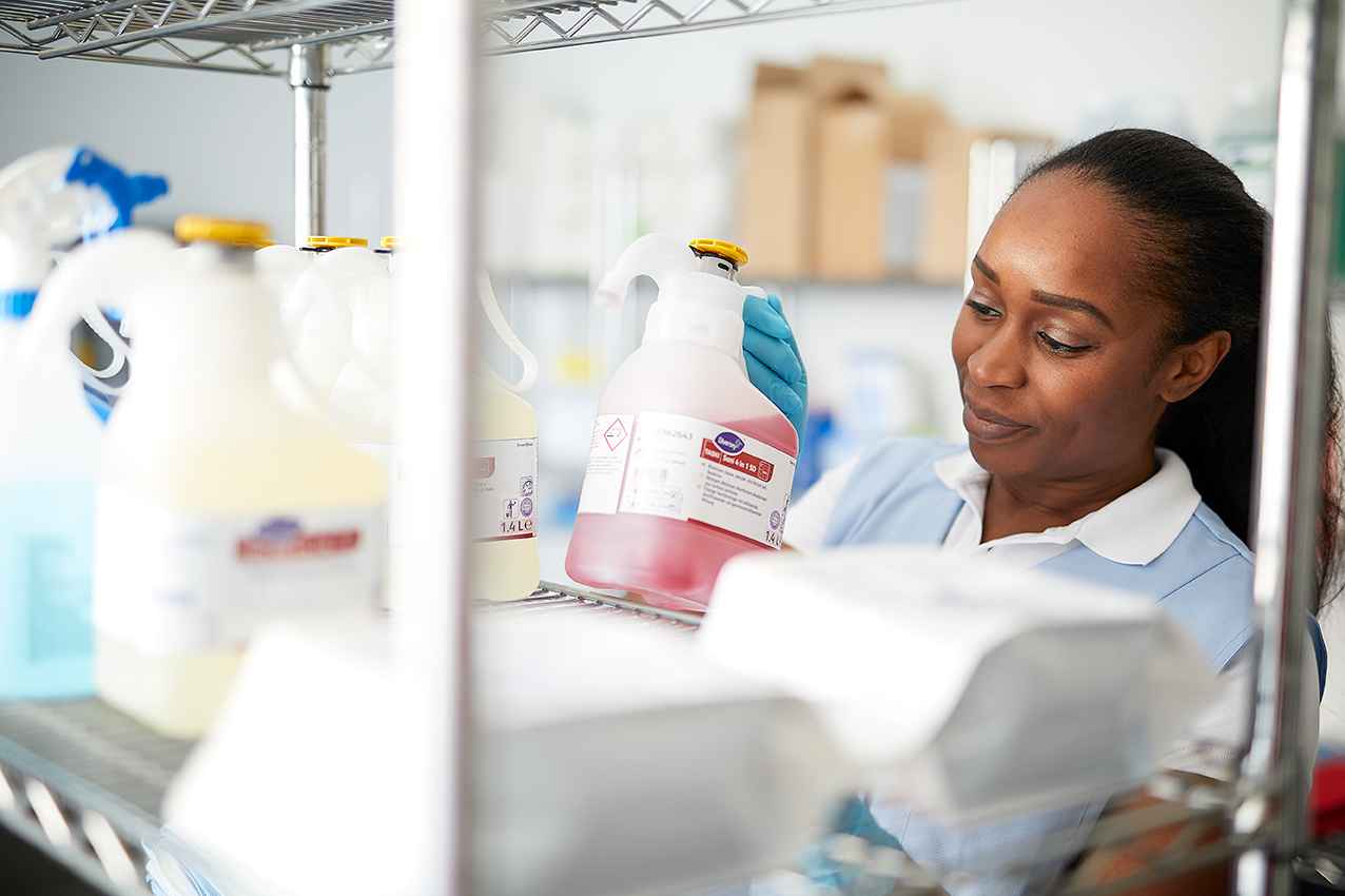 Diversey Smart Dose, sistema inteligente de doseamento de detergente