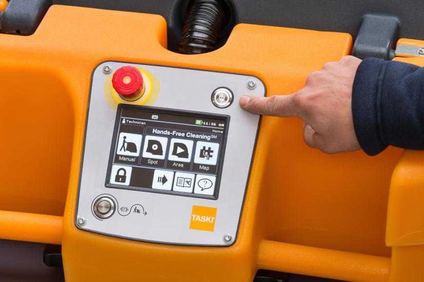 Swingobot-2000 Touch Screen