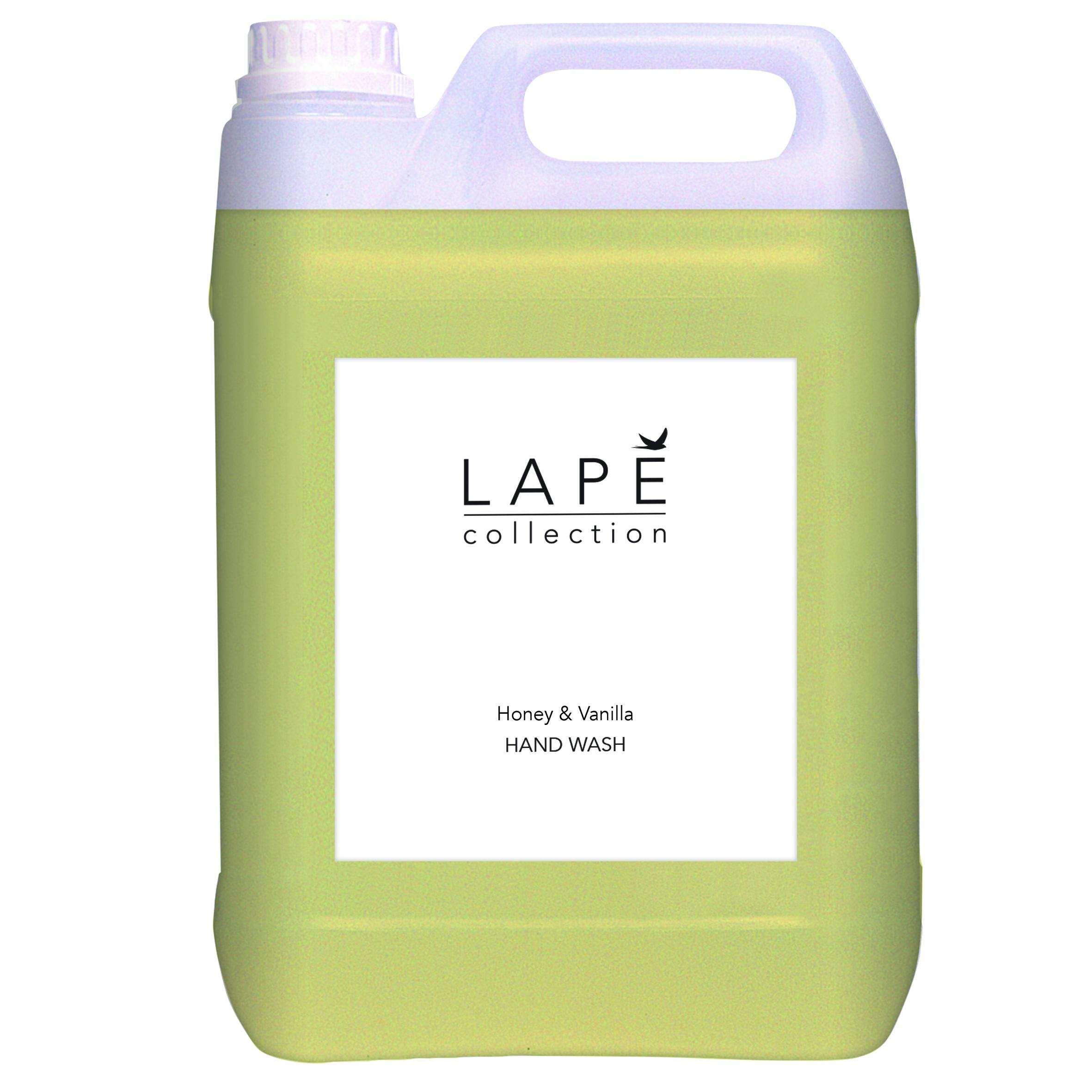 100934577-LAPĒ-Collection-5L-refill-Honey-vanilla-hand-Wash-pack-shot-CMKY-20x20cm.jpg