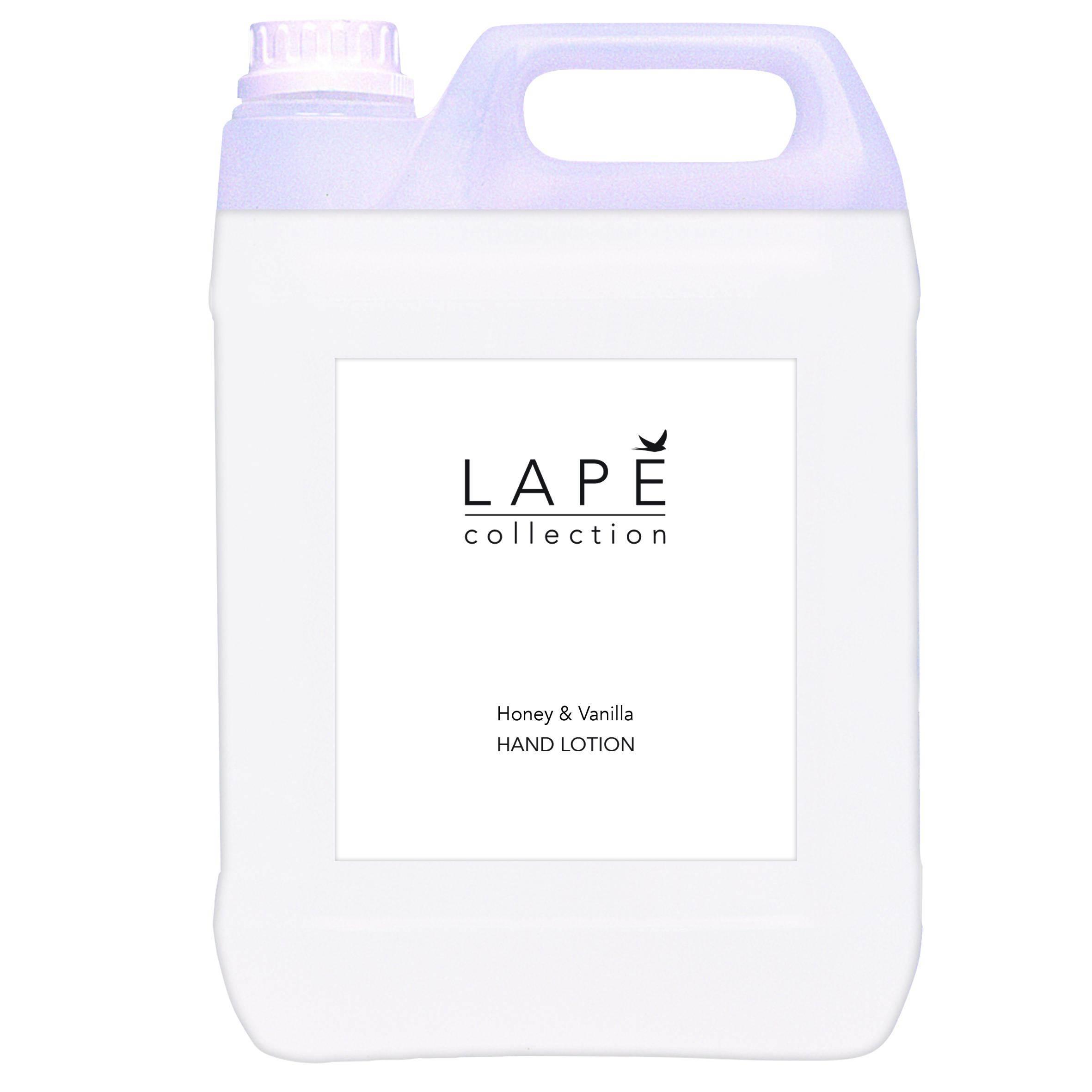 100934578-LAPĒ-Collection-5L-refill-Honey-vanilla-hand-Lotion-pack-shot-CMKY-20x20cm.jpg