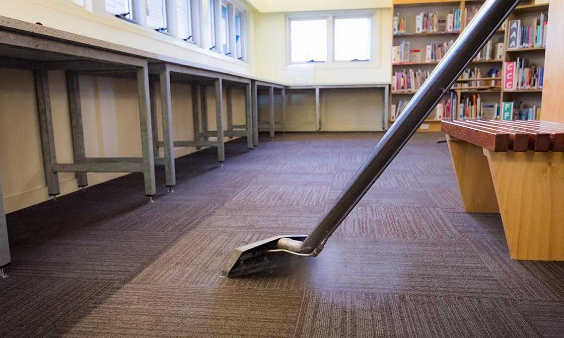 Caring for Carpet in Schools
