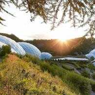 Biomes at The Eden Project, Cornwall, UK