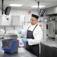 desinfectar cocina profesional